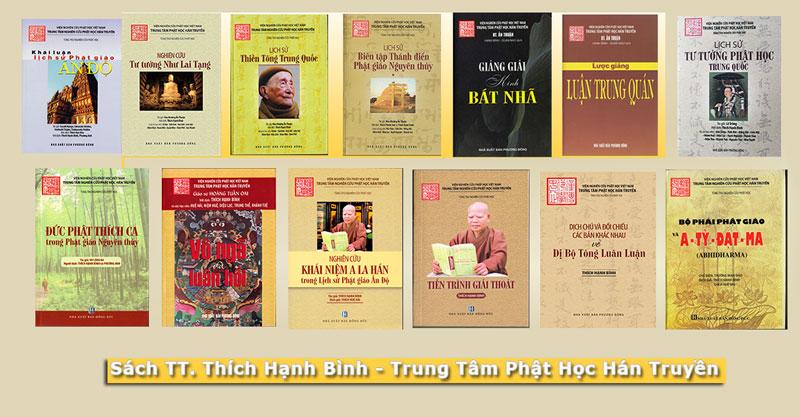 Sách TT Thích Hạnh Bình - Trung tâm Phật Học Hán Truyền